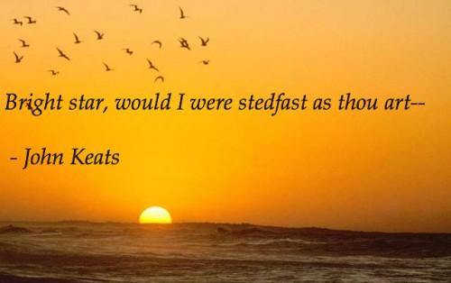 keats bright star