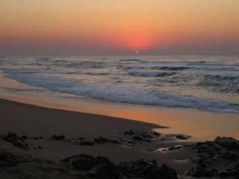 Early morning sea