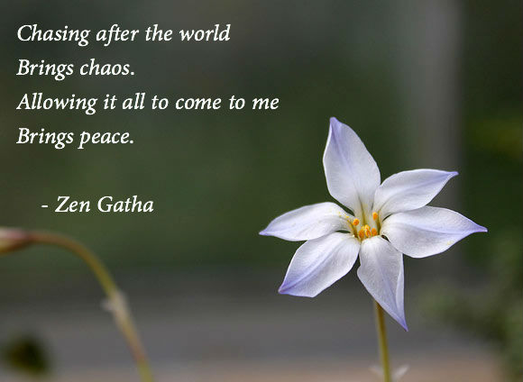 Zen poems and quotes